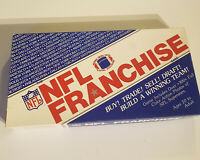 Vintage, Official The NFL Franchise Board Game Football 2001 300+ Football Cards