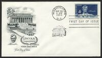 #1116 4c Lincoln, Artmaster-Addressed FDC **ANY 4=FREE SHIPPING**