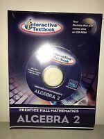 Prentice Hall Mathematics Algebra 2 Interactive Textbook CD-ROM
