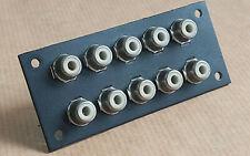 Pièce détachée Amplificateur SCOTT A407.Bornier Input,2x5 connecteurs RCA.