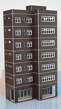 HO OO Scale Outland Models Train Railway Modern Tall Business Building Office