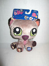 2009 Littlest Pet Shop LPS Plush stuffed collectible Bear NWT