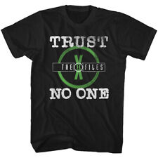 The X Files Science Fiction Tv Show Trust No One Adult T Shirt