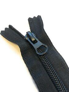 ADS Zipper Nylon No.5 Black Colour Zip with Autolock Thumb Puller