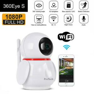 WiFi Baby Monitor Camera 1080P HD Video Two Way Audio Night Vision Home Security