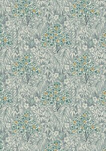LIBERTY  Winterbourne - Woodhaze - Forest 740C 100% cotton fabric