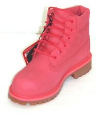 "Girl's Timberland 6"" Premium Waterproof Boots  Color:Pink Size: 12.5"