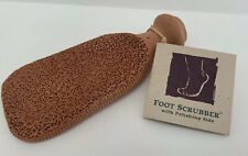 Gilden Tree 2 -Sided Pumice Foot Stone Terra Cotta Callus Remover ,Scrubber NEW