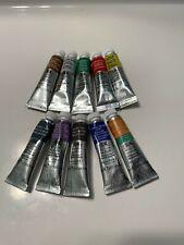 Lot of 10 Winsor & Newton Professional Watercolor Paints 5 ml 0.17 fl oz Tubes