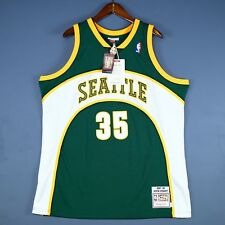 100% Authentic Kevin Durant Mitchell Ness Sonics NBA Jersey Size 2XL 52