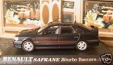 RENAULT SAFRANE BITURBO BACCARA 1993 UNIVERSAL HOBBIES 1/43 M6 COLLECTIONS NOIR