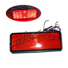 red LED Reflector Tail Brake Stop Marker Light Truck Trailer RV ATV Motorcycle