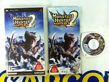 PSP GAME MONSTER HUNTER 2ND (ORIGINAL USED)