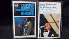 Louis Armstrong - Satchmo Sings Evergreens/What a Wonderful World (Paper Labels)