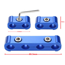 Spark Plug Wire Separator Clamp Set For 8mm 9mm 10mm HT Leads BLUE