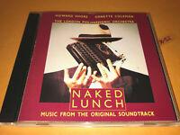 NAKED LUNCH soundtrack CD score Howard Shore Ornette Coleman Thelonius Monk ost