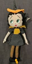 Betty Boop Plush Doll Halloween Collectible. 16�