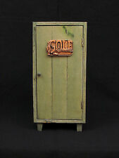 Golf Shadow Box Memorabilia Wood Locker Man Cave 11""