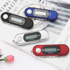 Portable Music MP3 Player USB Digital LCD Screen Support 32GB TF FM Radio 1PC