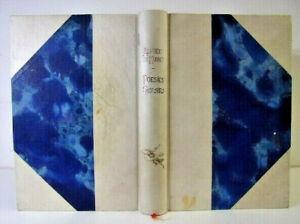 Poésies choisies d'Alfred de Musset.  1/1420 sur vélin bleu de Boucher.