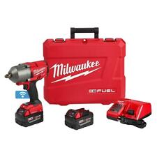 "Milwaukee 2863-22 M18 FUEL w/ ONE-KEY™ High Torque Impact Wrench 1/2"" Ring Kit"
