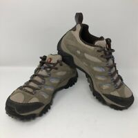 Merrell Womens Moab Hiking Shoes Dusty Olive J88796 Waterproof Low Top Lace Up 7