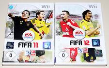 2 WII SPIELE SET - FIFA 11 & FIFA 12 - EA FUSSBALL FOOTBALL SOCCER NINTENDO