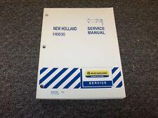 New Holland H6830 Pull Type Disc Mower Workshop Shop Service Repair Manual