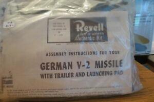 1/69 REVELL V-2 NO BOX