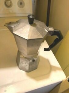 The Original Bialetti Moka Express Made in Italy 1-Cup Stovetop Espresso Maker