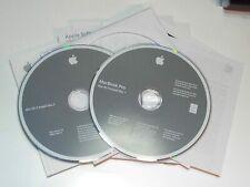 "APPLE 10.4.5 OSX TIGER RESTORE DISCS 15"" MacBook Pro Intel Core Duo 2Z691-5798-A"
