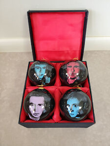 Set of 4 Duran Duran Ornaments - Limited Edition 18/400 - Crewe Issue Ltd London