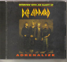 Def Leppard   Joe Elliott Interview US  promo  CD from Adrenalize