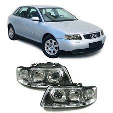 Facelift DE H7 H1 Klarglas Scheinwerfer Paar für Audi A3