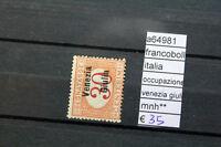 FRANCOBOLLI STAMPS ITALIA OCCUPAZIONE VENEZIE GIULIA NUOVI MNH ** (A64981)