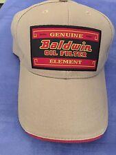 Filtro de aceite original clásico Baldwin caqui con el logotipo de Tamaño Adulto  Gorra Baldwin 3f93d3f589f