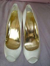 FREYA ROSE London  UK 5 EU 38 WHITE SILK Designer Bridal  shoes RRP £195.00