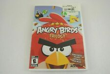 Angry Birds Trilogy 2012 Nintendo Wii COMPLETE EX