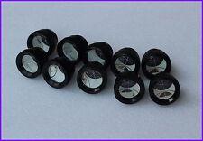 10pcs Silvered Mini Peanut Prism For Topcon Pentax Sokkia Nikon Total Station