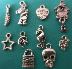 Tibetan Charms - Crafts - 1p AUCTION -  Random Mix - Hobby - Jewellery Making