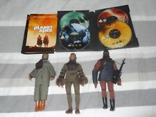 More details for 3  vintage 70's planet of the apes figures plus original complete dvd tv  series