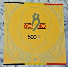 ==>> SET FDC 1990  3 X 500 Francs Frank Rare Zeldzaam Belgique Belgïe <<===