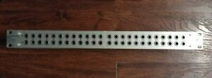 Behringer ULTRAPATCH PX2000 Unbalanced Patch Bay Patchbay WORKING Used Nice Cond