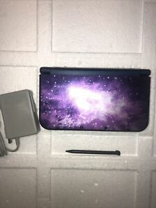 Nintendo New 3DS XL Galaxy Game System Purple Used Handheld Console #A7