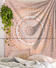Indian ombre mandala tapestry hippie wall hanging bohemian bedspread dorm decor