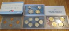 2009 U. S. Mint Proof set 18 coin Set  Quarters President 4 penny set Box & COA