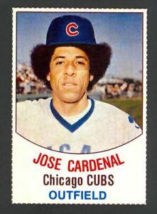 1977 Hostess Jose Cardenal #85 - Chicago Cubs - Mint