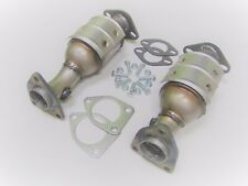 Fits: 2005-2010 Nissan Frontier 4.0L 2 Piece Pair Front Catalytic Converter