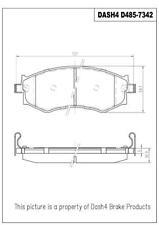 Front Ceramic Brake Pads CD485 Dash 4 Brake