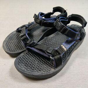 Teva Men's Sandals sz 8 s/n 6811 Blue Adjustable Straps Excellent Condition